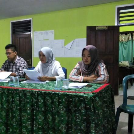 Rapat Pleno Hasil Pemutakhiran Data Desa Balongbesuk