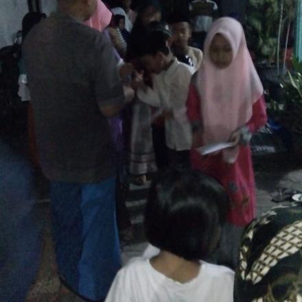 Santunan Anak Yatim Piatu Desa Balongbesuk