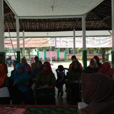 Sosialisasi POSBINDU PTM Desa Balongbesuk