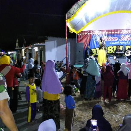 Acara Puncak Malam Bersih Desa