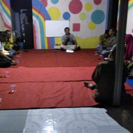 Rapat Triwulan Dusun Balongbesuk