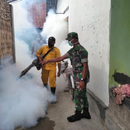 Kegiatan Fogging Pemberantasan Sarang Nyamuk