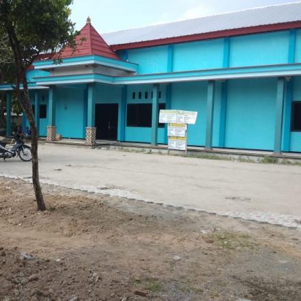 Pembangunan Paving Halaman Gedung Olah Raga 50 - 100 %