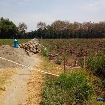 Pembangunan TPT Jalan Dusun Mojosongo