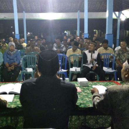 Sosialisasi Tahapan Lanjutan Pilkades Desa Balongbesuk