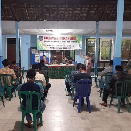 Musyawarah Desa Dalam Rangka Percepatan Perubahan APBDes