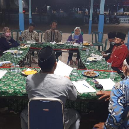 Rapat Koordinasi BPD dan Pemerintah Desa