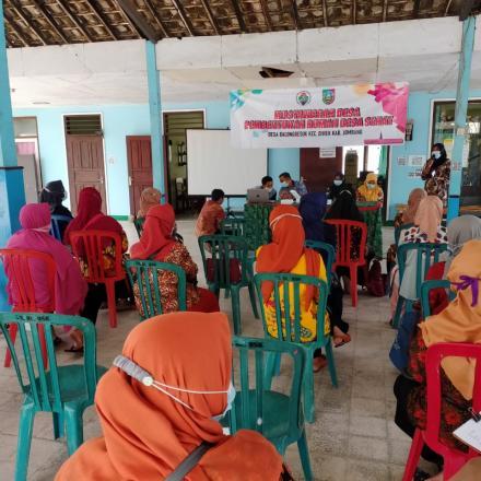 Sosialisasi dan Pembentukan Rumah Desa Sehat