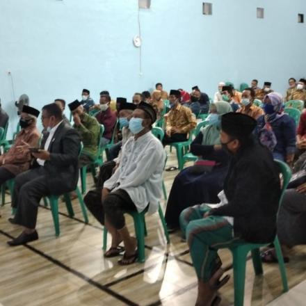 Musyawarah Desa Tentang Penetapan APBDes Tahun 2021