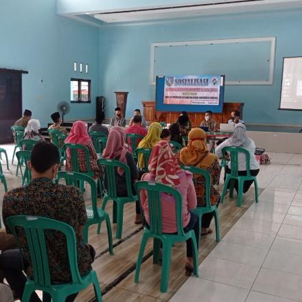 Sosialisasi Kegiatan SDGs Desa Balongbesuk