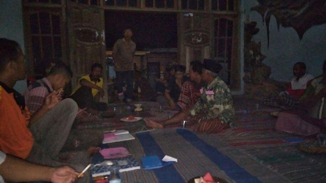 Rapat Rutin Dusun Mojosongo