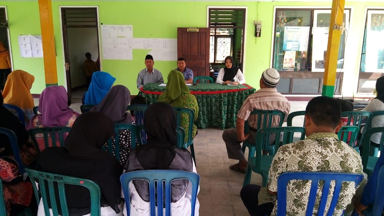 Sosialisasi Pencairan Dana Lembaga Desa Balongbesuk