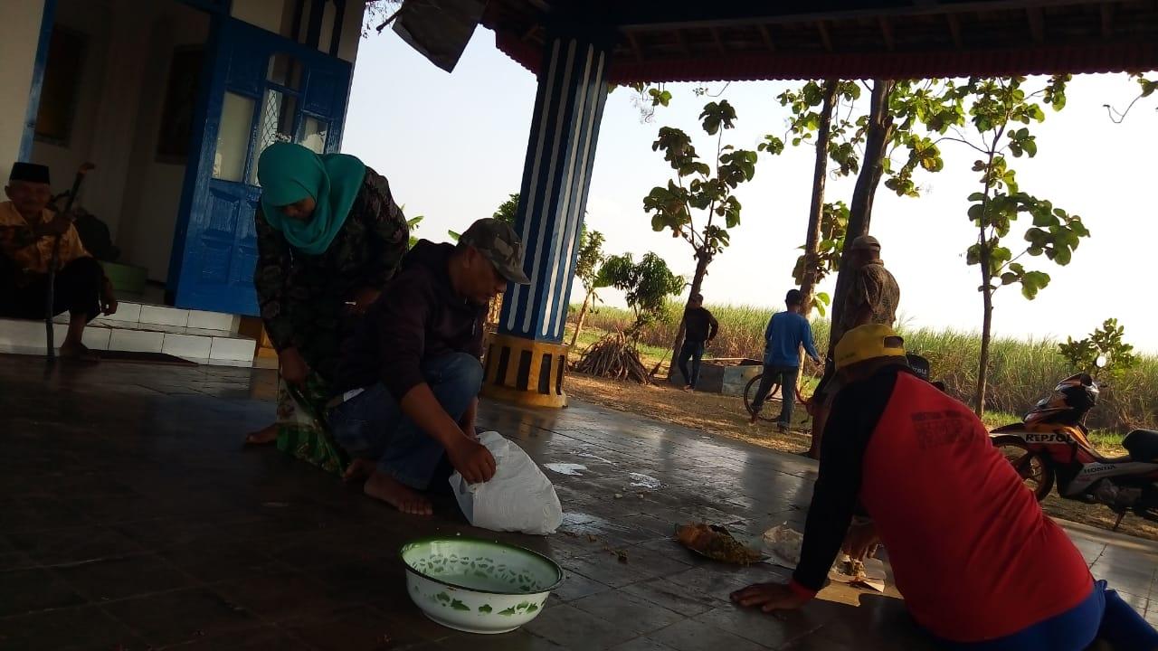 Kerja Bakti Persiapan Bersih Desa