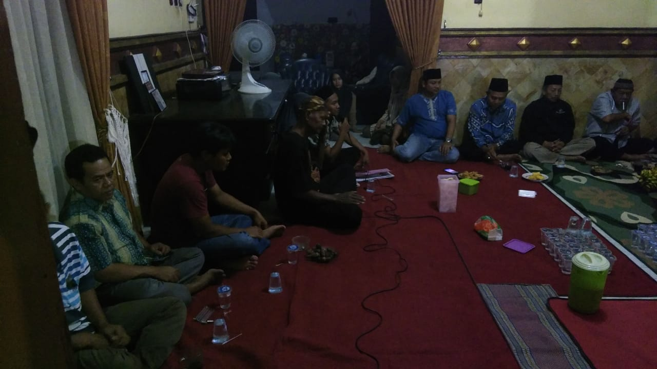 Rapat Koordinasi Sedekah Dusun Balongbesuk