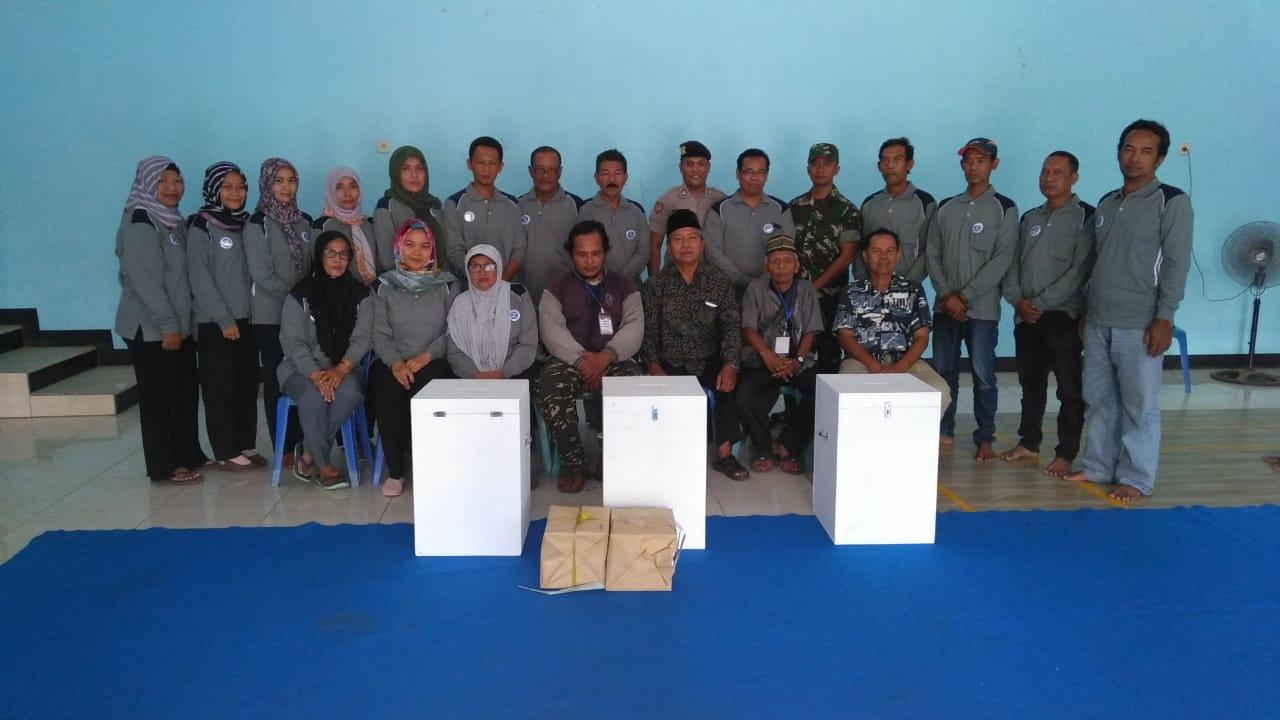 Pelipatan Surat Suara Pilkades Desa Balongbesuk