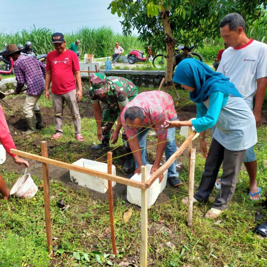 Pembangunan Gubug Tani
