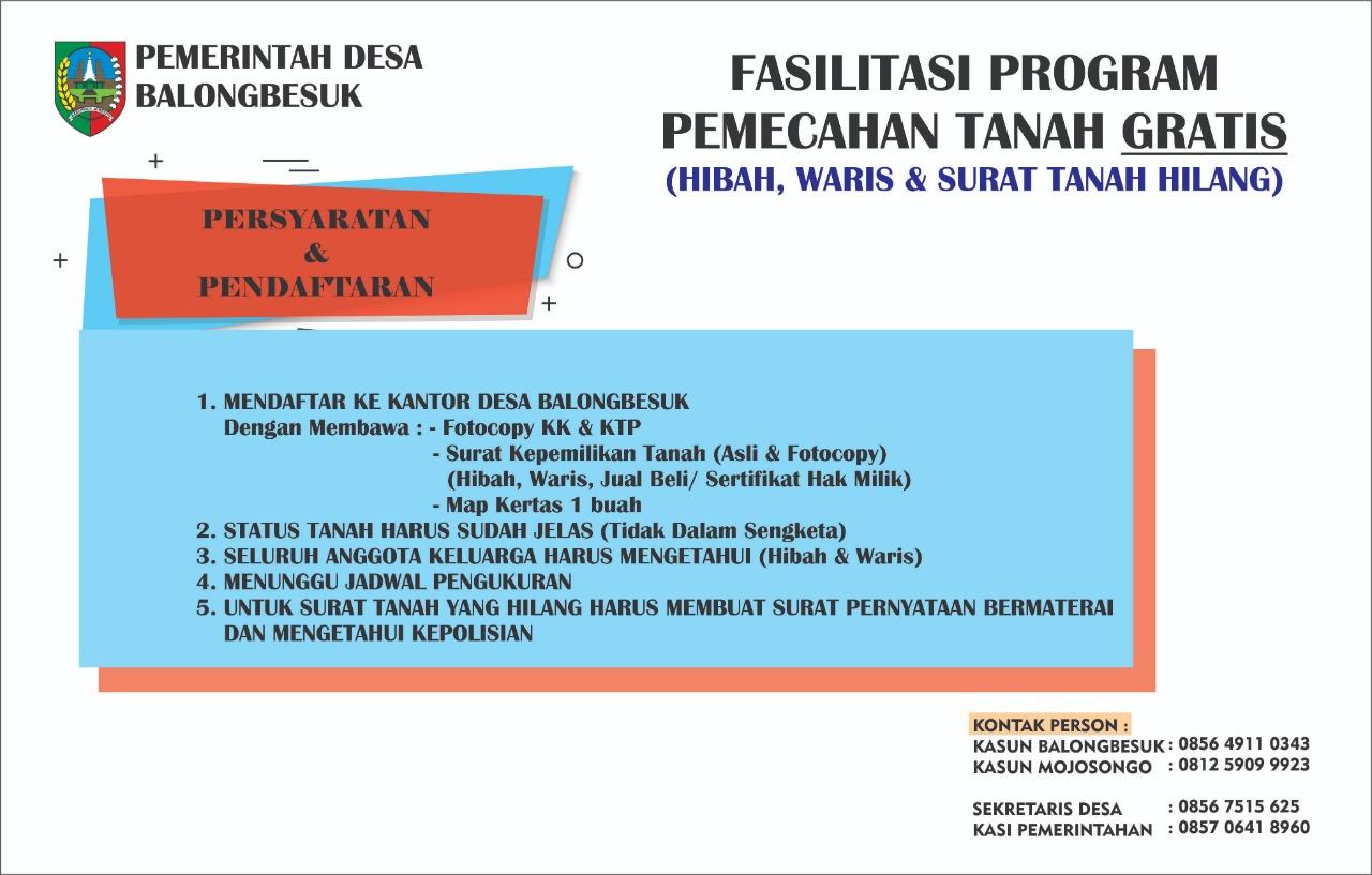 Program Pemecahan Tanah Gratis