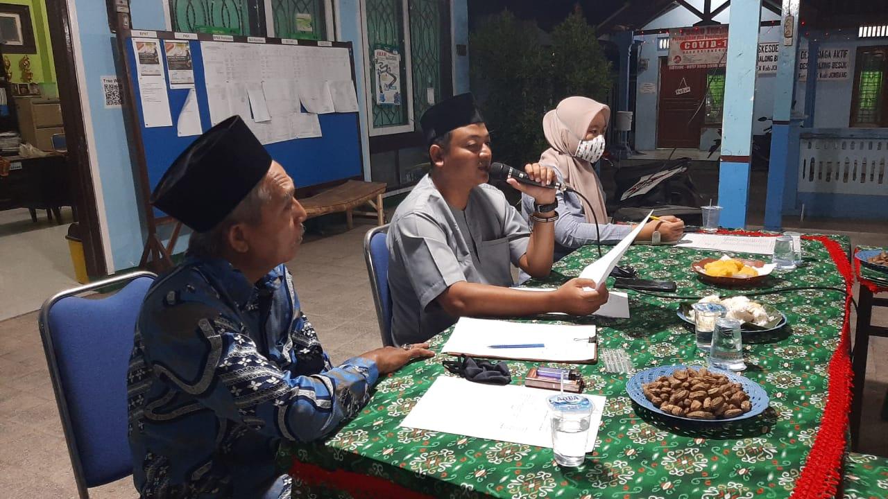 Rapat Koordinasi BPD dan Pemerintah Desa Balongbesuk