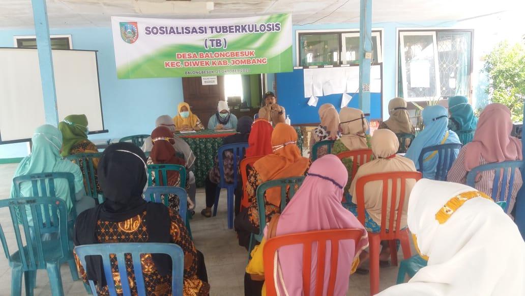 Sosialisasi Tubekolosis Desa balongbesuk